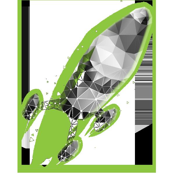 Low-poly-Rocket
